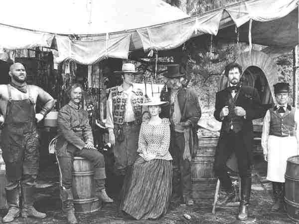 The cast of Paint Your Wagon